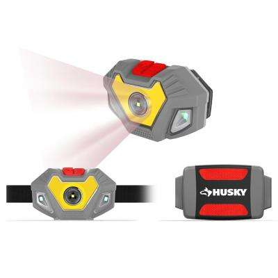 4AAA 300-Lumen LED Dual Beam Unbreakable Headlight