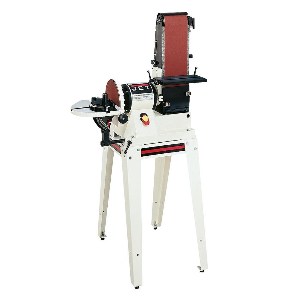 JET 708596k Jsg-96os 6 In. X 48 In. Belt / 9 In. Disc Sander With Open Stand