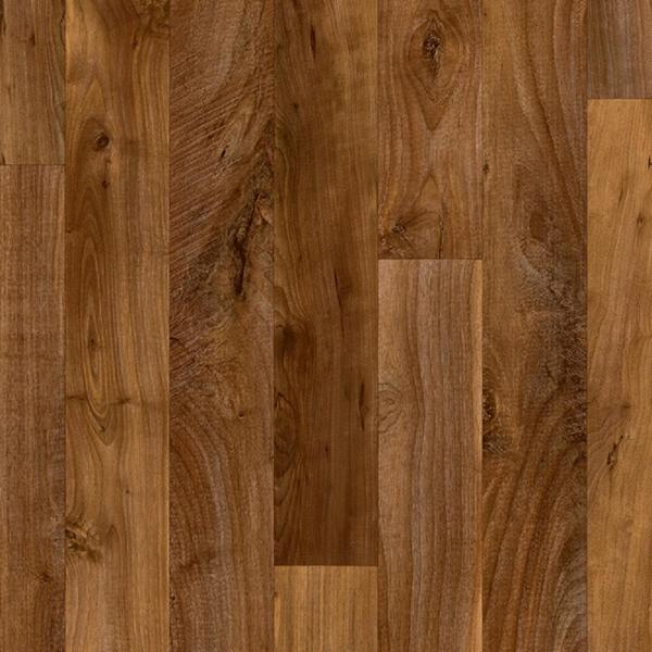 Sawyer Brown Wood Residential Vinyl Sheet Flooring 13.2ft. Wide x Cut to Length