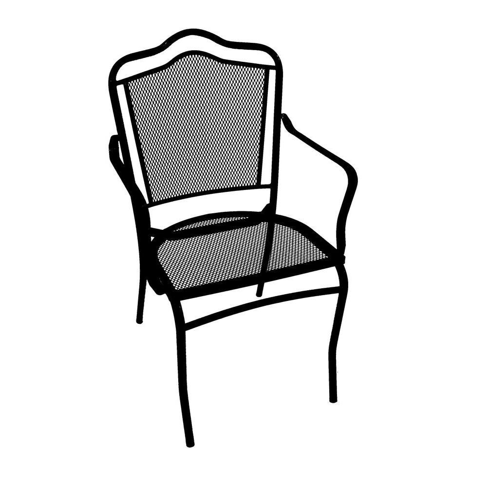 Arlington House Dalton Commercial Grade Patio Dining Chair (4-Pack)