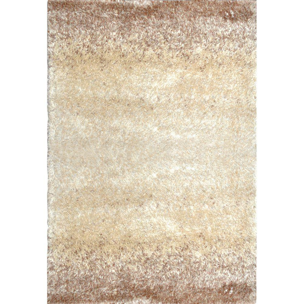 Home Dynamix Sizzle Beige/Ivory 5 ft. 3 in. x 7 ft. 2 in. Indoor Area Rug
