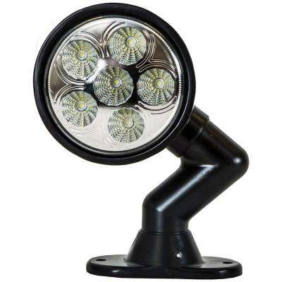 6-Clear LED 5 in. Round Spot Light