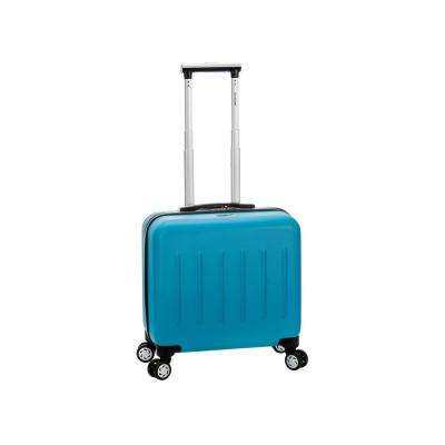 Rockland Pelican Hill Rolling Laptop Case Hardside,Turquoise