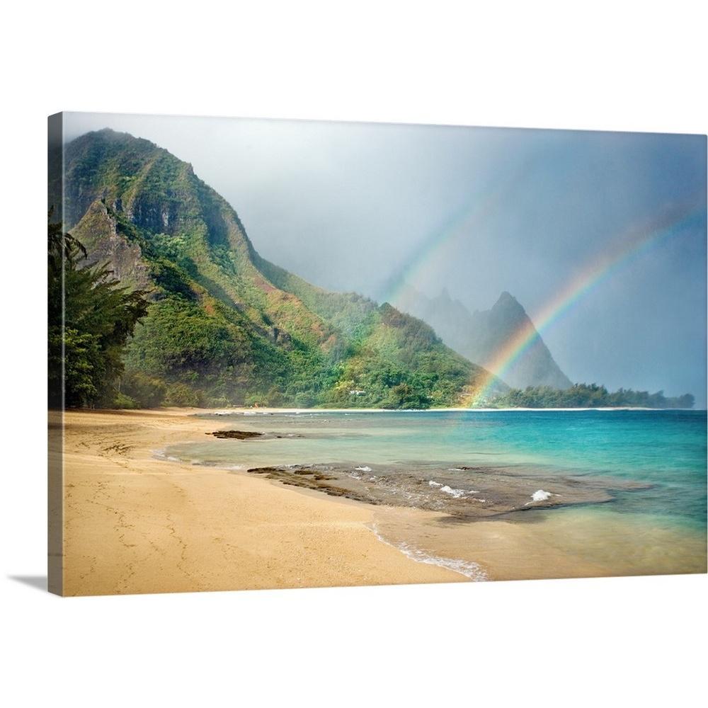 Greatcanvas Hawaii Kauai North S Tunnels Beach Bali Hai Point