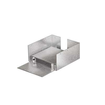 ABW 6 in. x 6 in. Rough ZMAX Galvanized Adjustable Post Base
