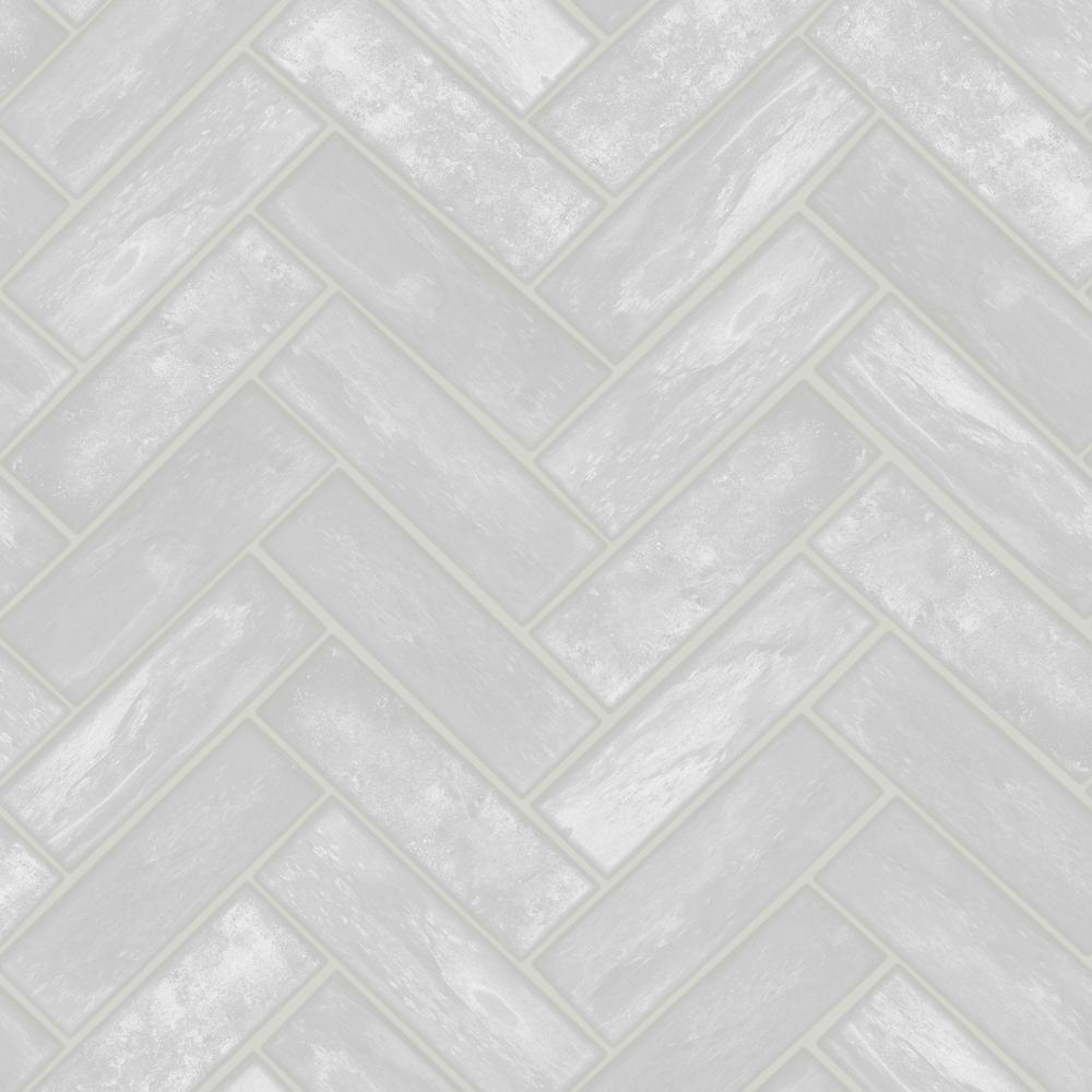 Lustro Grey Removable Wallpaper
