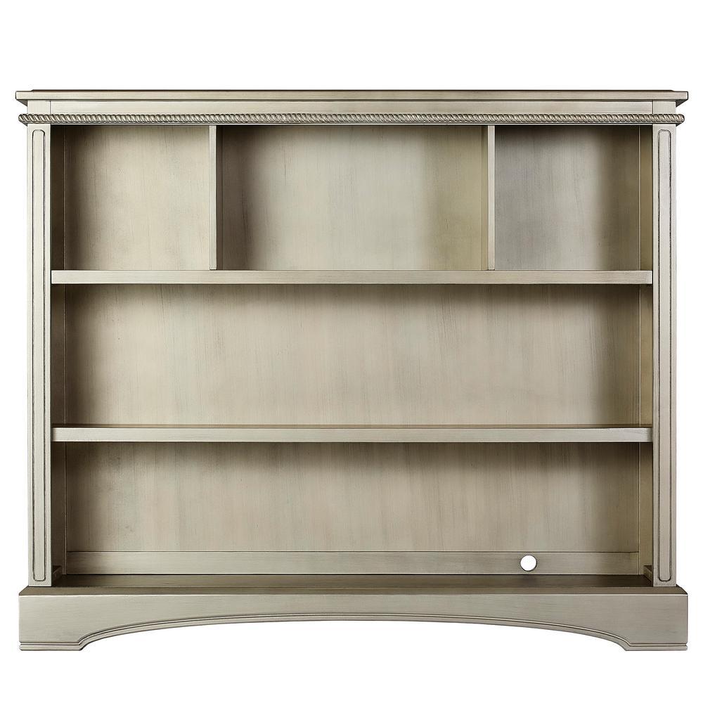 Adora and Catalina Antique Bronze Bookcase