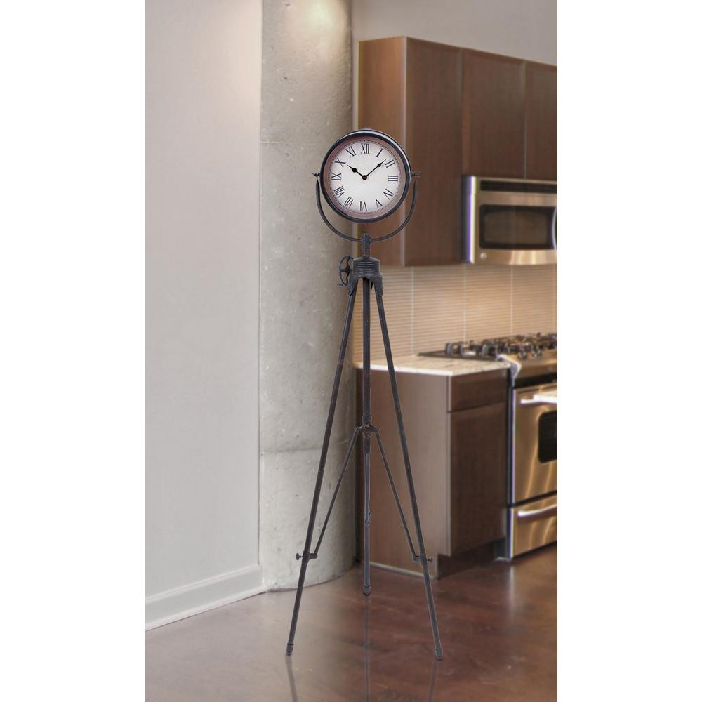 Litton Lane 57 In Tripod Floor Clock 51643 The Home Depot