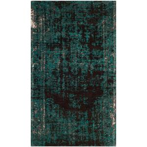 Safavieh Classic Vintage Teal Brown 3 Ft X 5 Ft Area Rug
