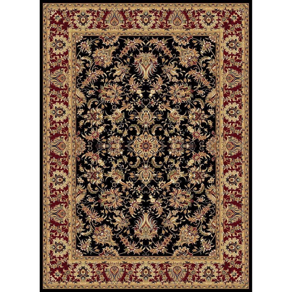 Williams Collection Ararat Black 6 ft. 7 in. x 9 ft.