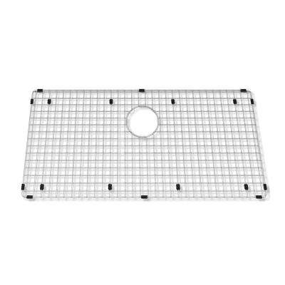 Prevoir 32 in. x 15 in. Kitchen Sink Grid in Stainless Steel