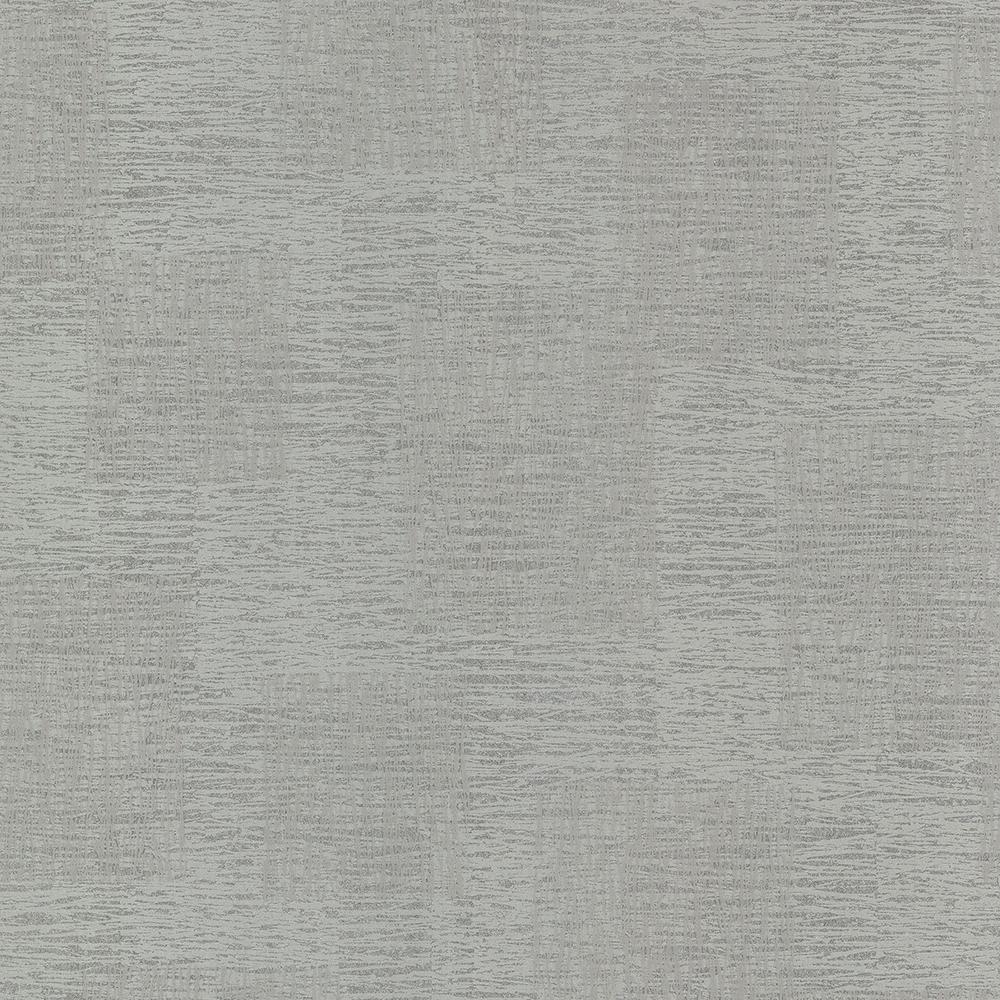 Advantage 56.4 sq. ft. Bowie Grey Sketched Texture Wallpaper 2773-400267