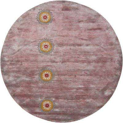 Rowe Multi 7 ft. 9 in. Indoor Round Area Rug