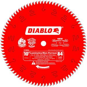 10 in. x 84-Teeth Laminate/Non-Ferrous Metal Cutting Saw Blade