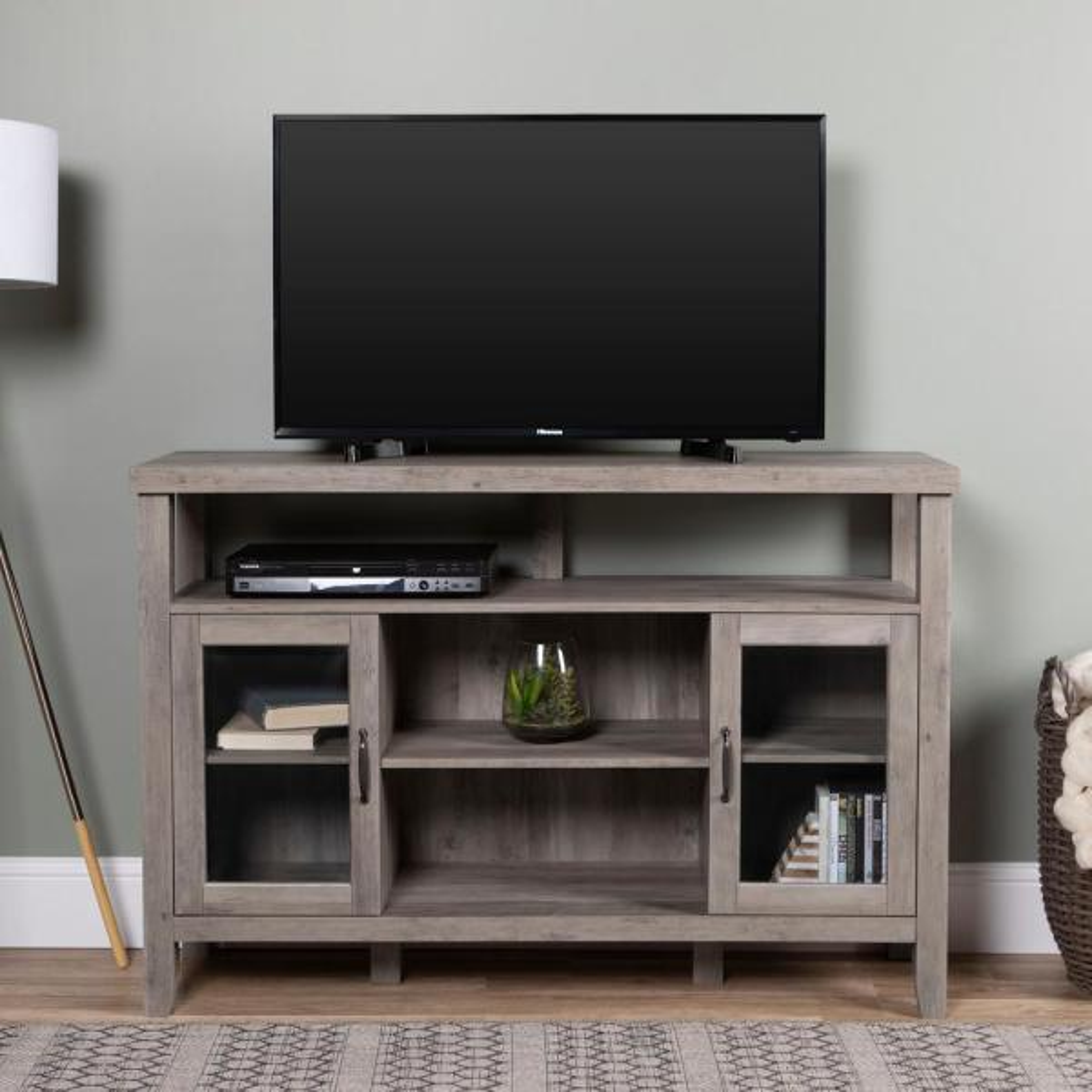 Home Furniture Company: Walker Edison Furniture Company 52 In. Grey Wash Wood