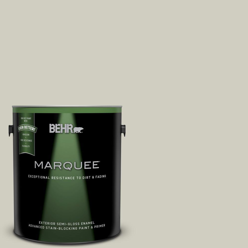 behr marquee 1 gal n350 2 sawgrass semi gloss enamel exterior