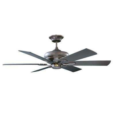 Caperton 52 in. Oil Rubbed Bronze Ceiling Fan with 6 Blades
