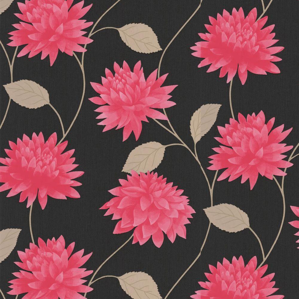 Graham & Brown 56 sq. ft. Romance Pink Wallpaper