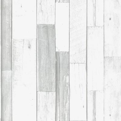 Strata Woody Grey Removable Wallpaper