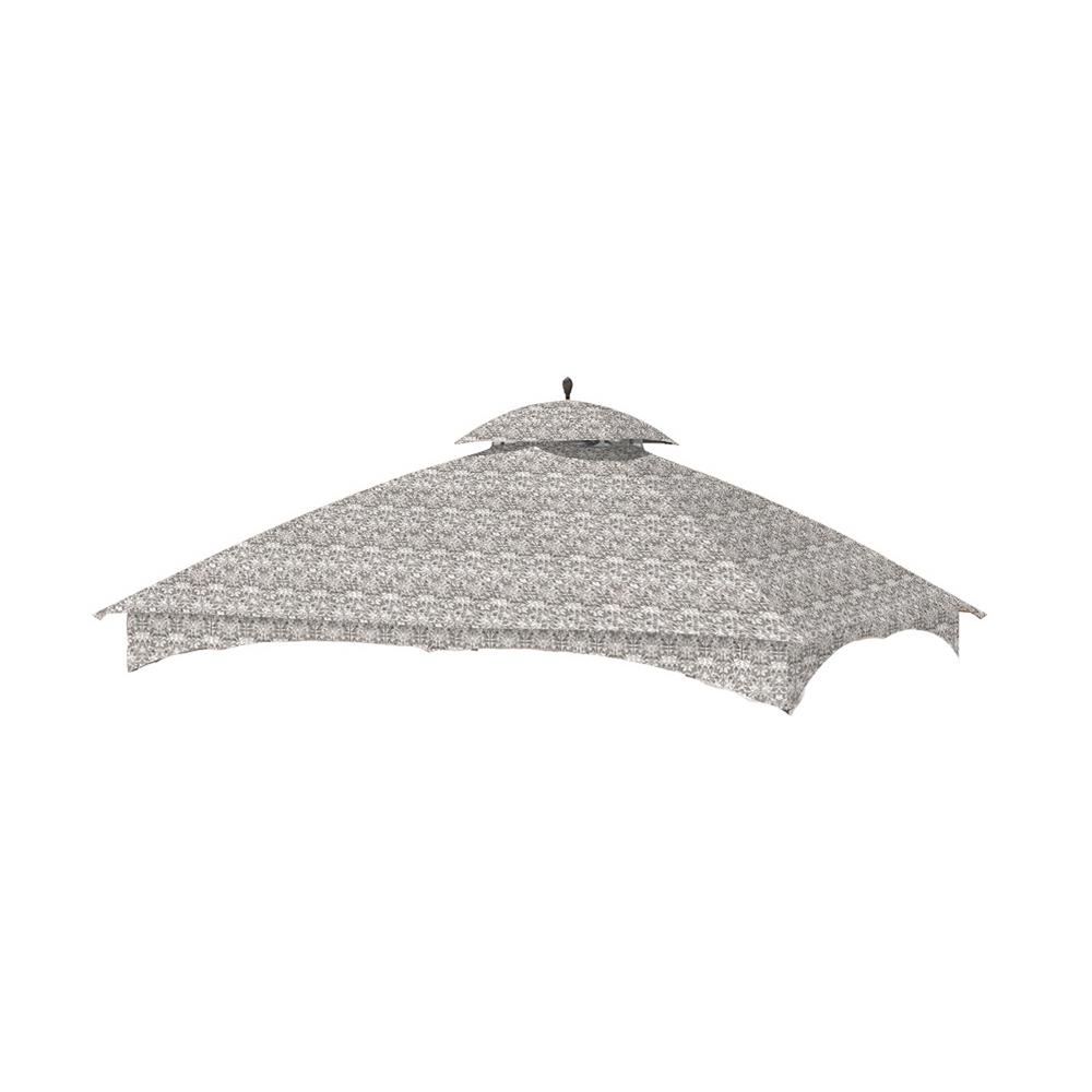 Standard 350 Damask Beige Replacement Canopy Top Set for 10 ft.