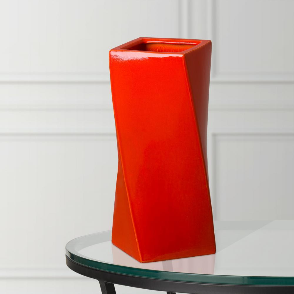 Decorative Twist Vase