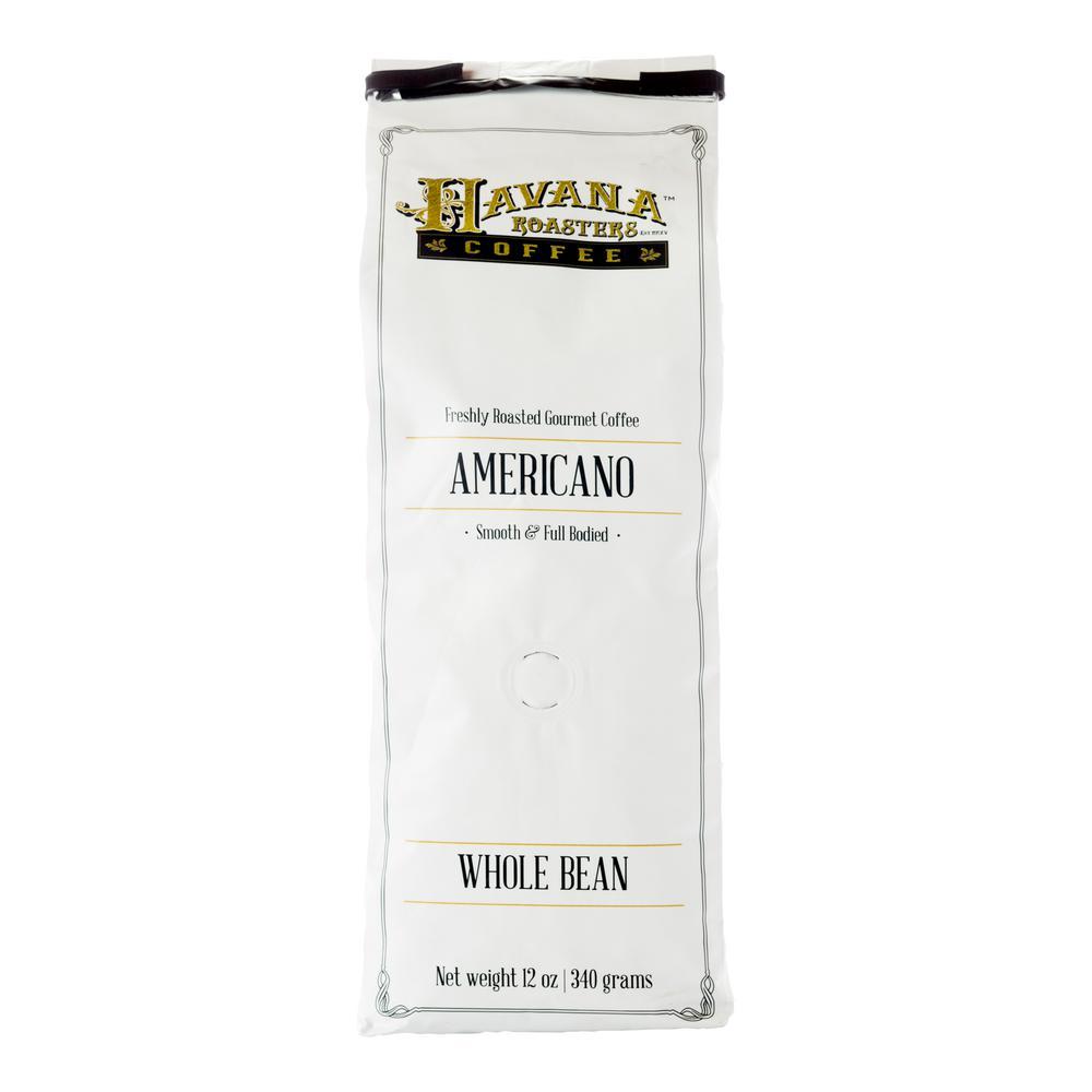 Americano 12 oz. Coffee Bags Coffee Whole Beans (12 Bags)