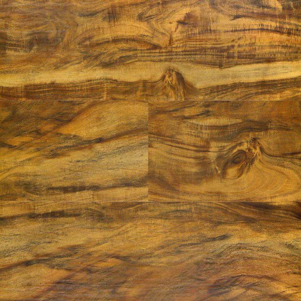 Power Click Sunburst Acacia 7 in. x 47.75 in. Luxury Vinyl Plank (23.2 sq. ft. / case)