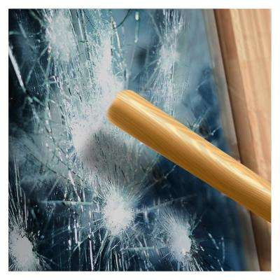 48 in. x 12 ft. S4MB05 4 Mil Black 5 (Very Dark) Security and Privacy Window Film