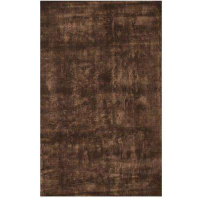 Tones Chocolate 5 ft. x 8 ft. Area Rug