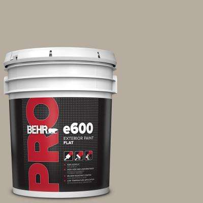 5 gal. #PPU18-13 Perfect Taupe Flat Exterior Paint