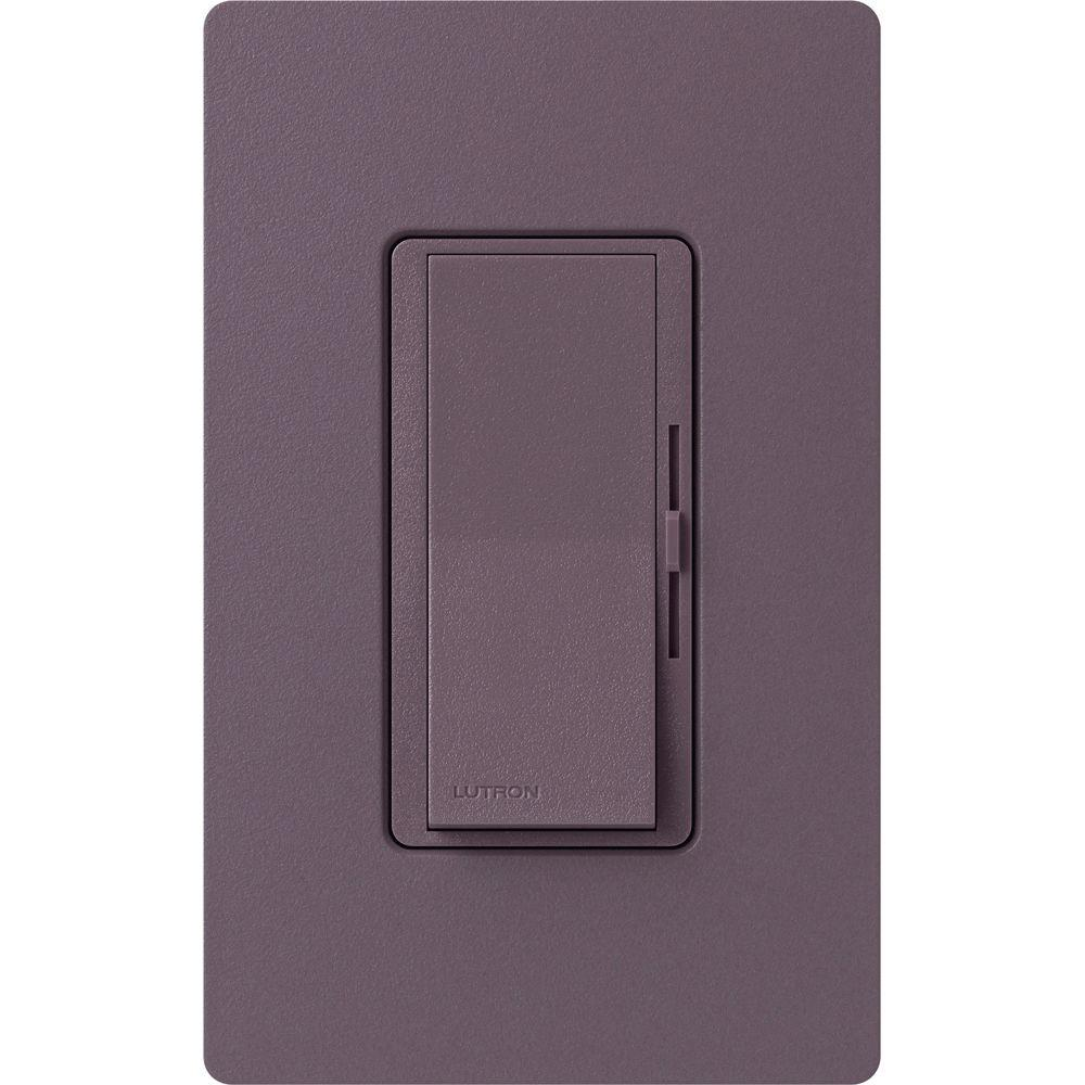 Lutron Diva Magnetic Low Voltage Dimmer 450 Watt Single Pole Plum 3 Way Switch Replacement
