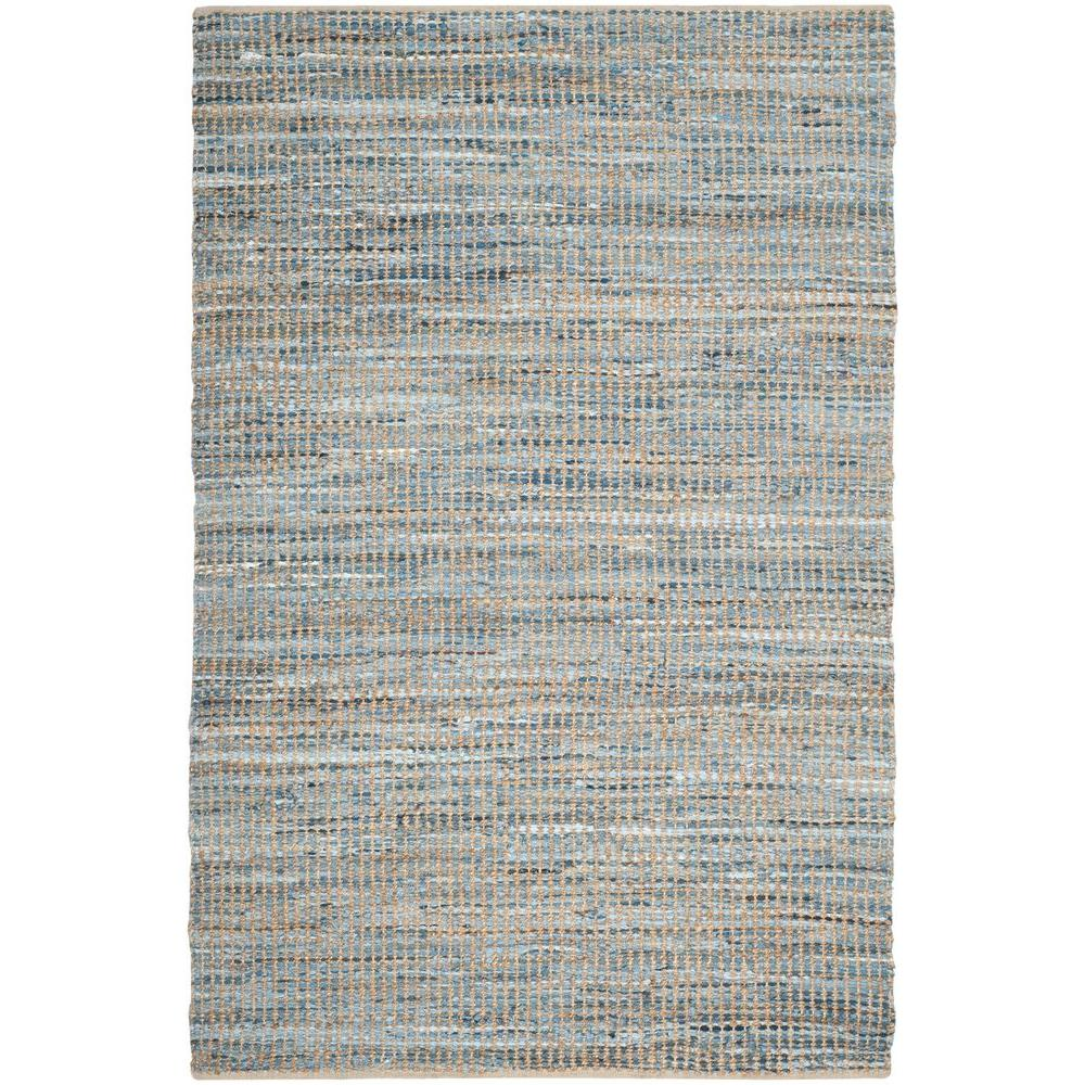 Safavieh Cape Cod Natural/Blue 6 ft. x 9 ft. Area Rug
