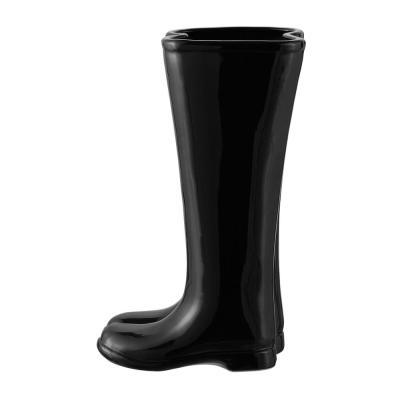 Home Decorators Collection Black Boots Umbrella Stand