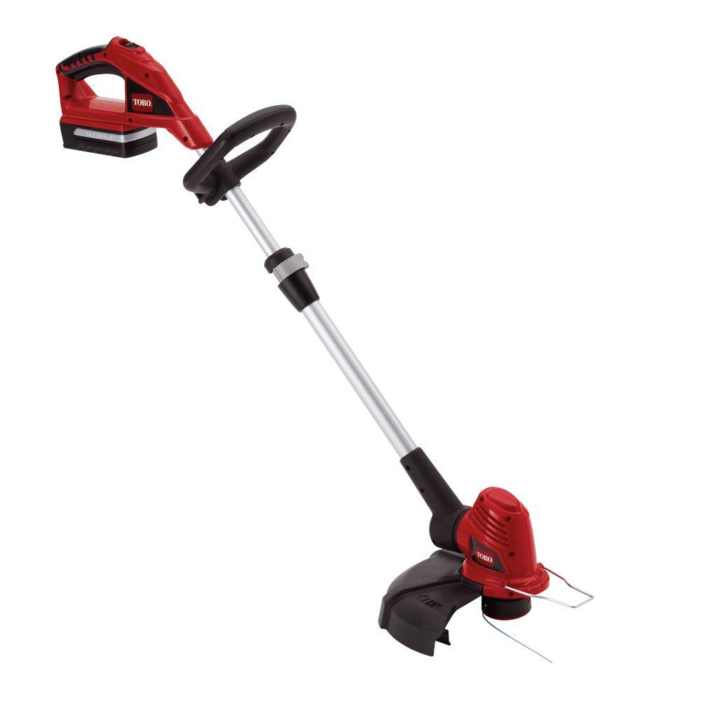 Toro 12 in. 20-Volt Max Lithium-Ion Cordless String Trimmer