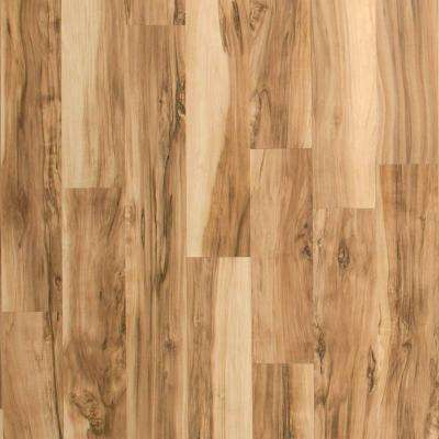 Brilliant Maple 8 mm Thick x 7-1/2 in. Wide x 47-1/4 in. Length Laminate Flooring (22.09 sq. ft. / case)