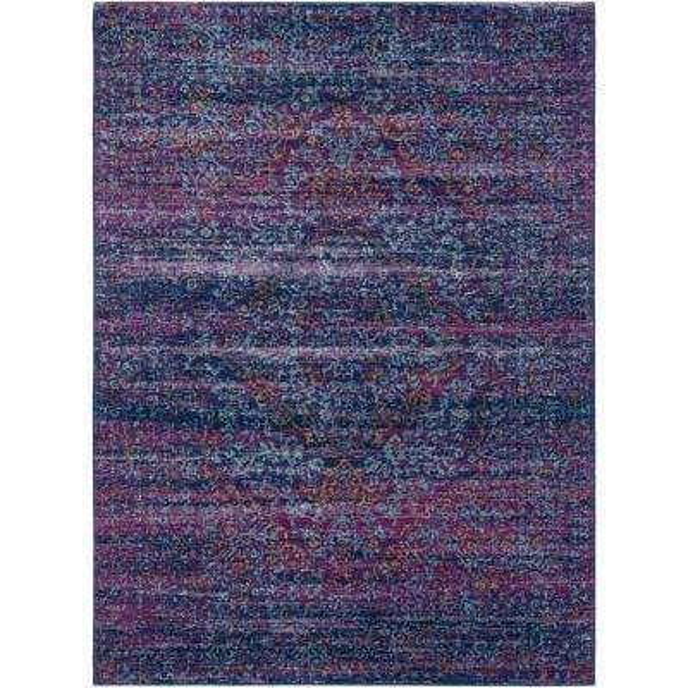 Demeter Purple 5 Ft X 7 Indoor Area Rug