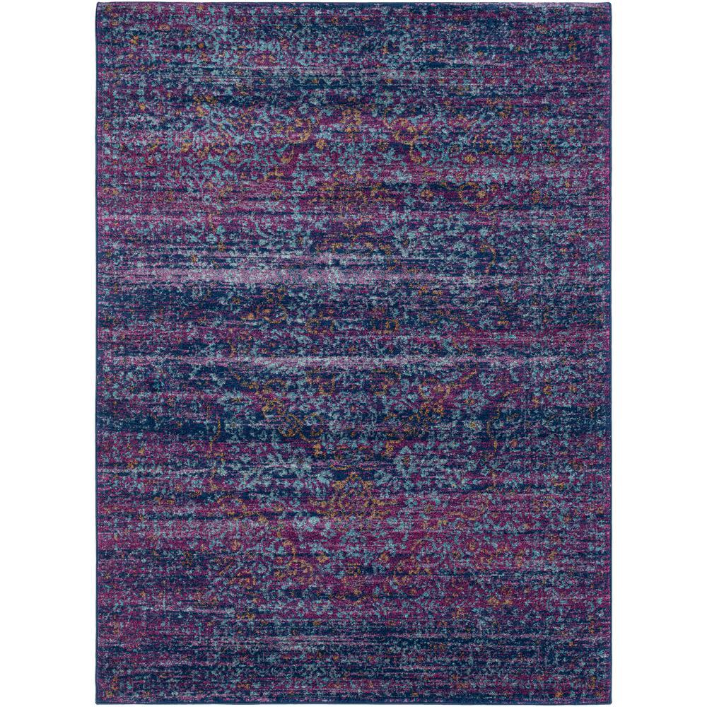 Harput Purple 5 ft. x 7 ft. Indoor Area Rug