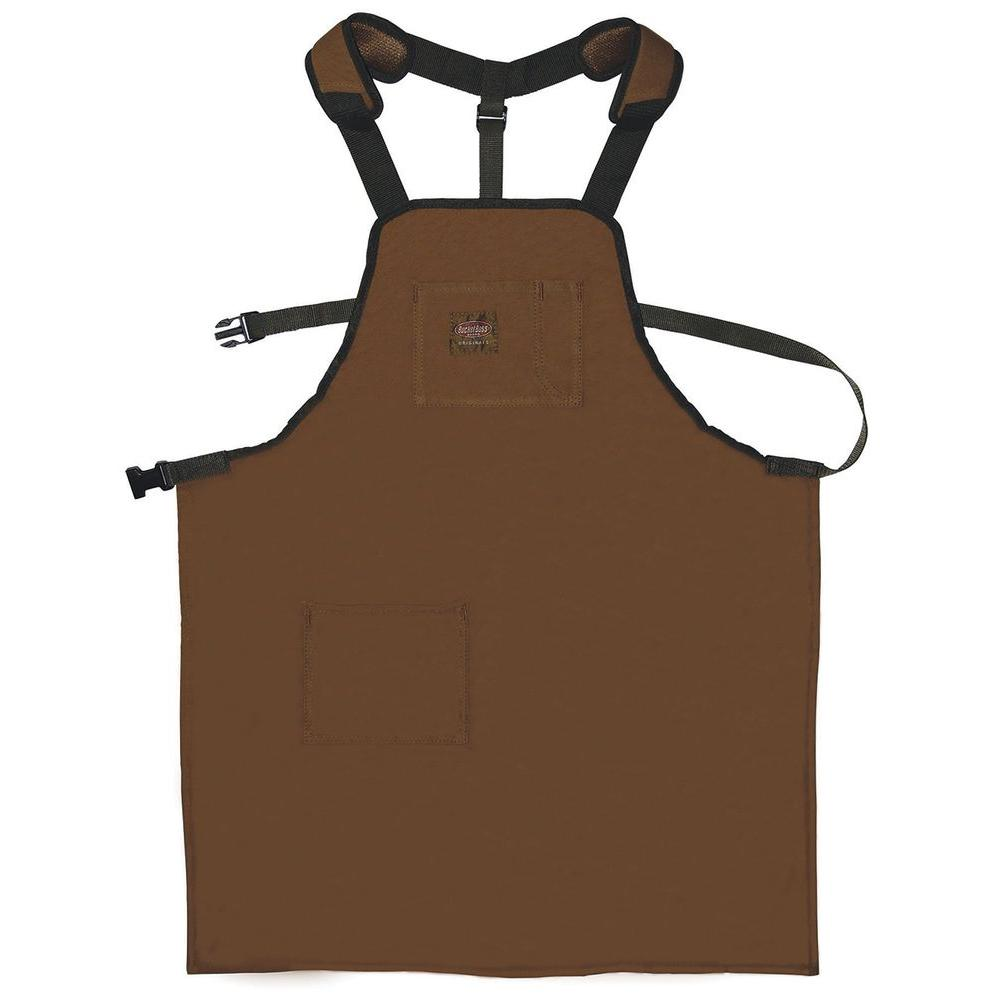 Bucket Boss Duckwear Super Shop 26 5 In Apron 80300 The Home Depot