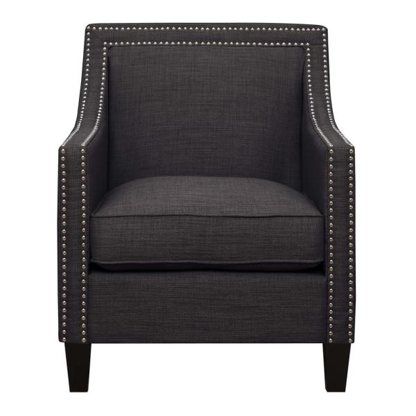 undefined Emery Charcoal Arm Chair