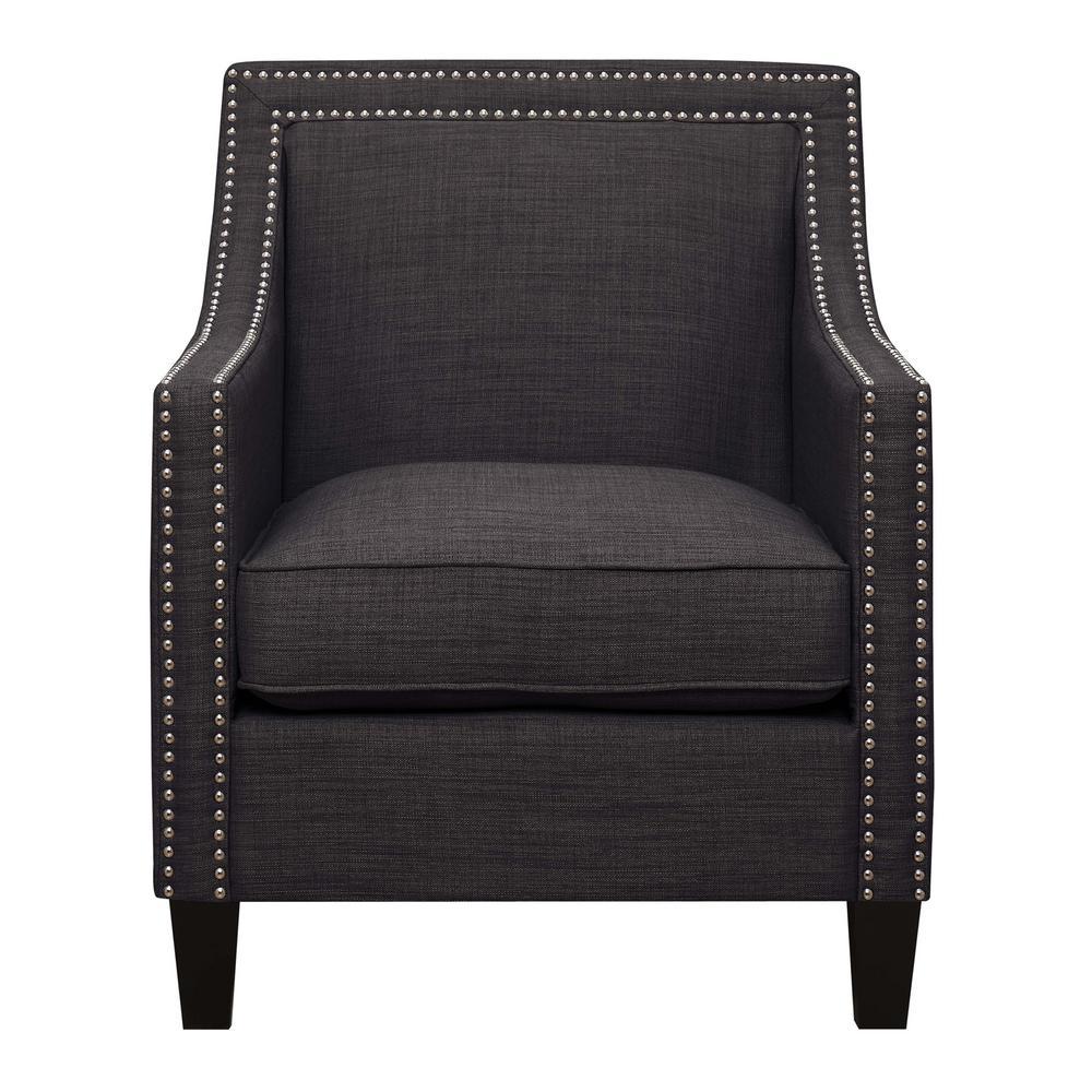 Emery Charcoal Arm Chair UER090100CA