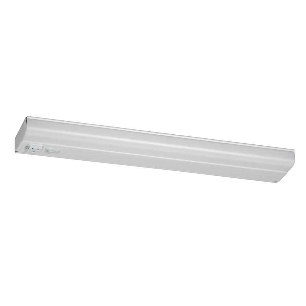 Fluorescent Light Goes On And Off: AFX T8 Fluorescent 36 In. Fluorescent White Under Cabinet