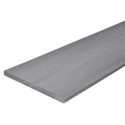 Horizon 3/4 in. x 11-1/4 in. x 12 ft. Castle Gray Capped Fascia Composite Decking Board (24-Pack)
