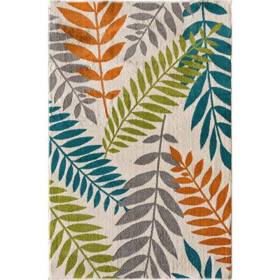 Patio Brights Blythewood Multi 7 ft. x 10 ft. Indoor/Outdoor Area Rug