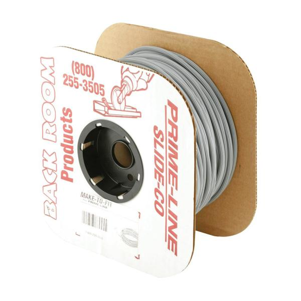 0.185 in. x 500 ft. Roll Gray Vinyl Screen Spline