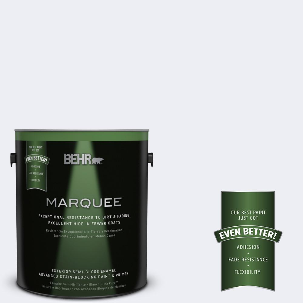 BEHR MARQUEE 1-gal. #PPL-13 Distant Windchime Semi-Gloss Enamel Exterior Paint
