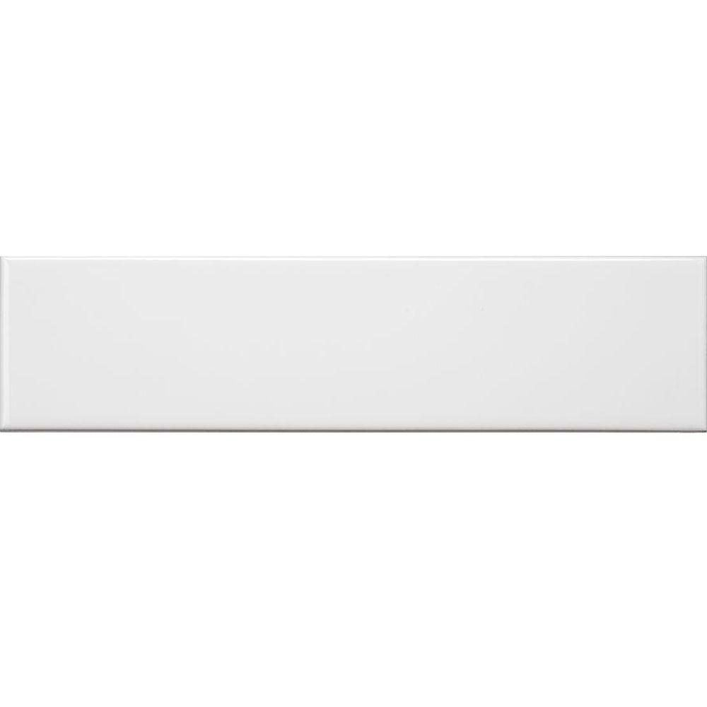 Jeffrey Court Allegro White Flat 3 in. x 12 in. Ceramic Wall Tile (16.5 sq. ft. / case)