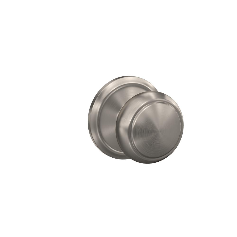 Schlage Custom Andover Satin Nickel Alden Trim Combined