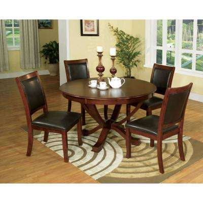 Sandy Brown Cherry Point Transitional Style Dining Table