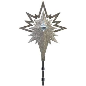 17.91 in. Lighted Projection Tree Topper-Kaleidoscope Set