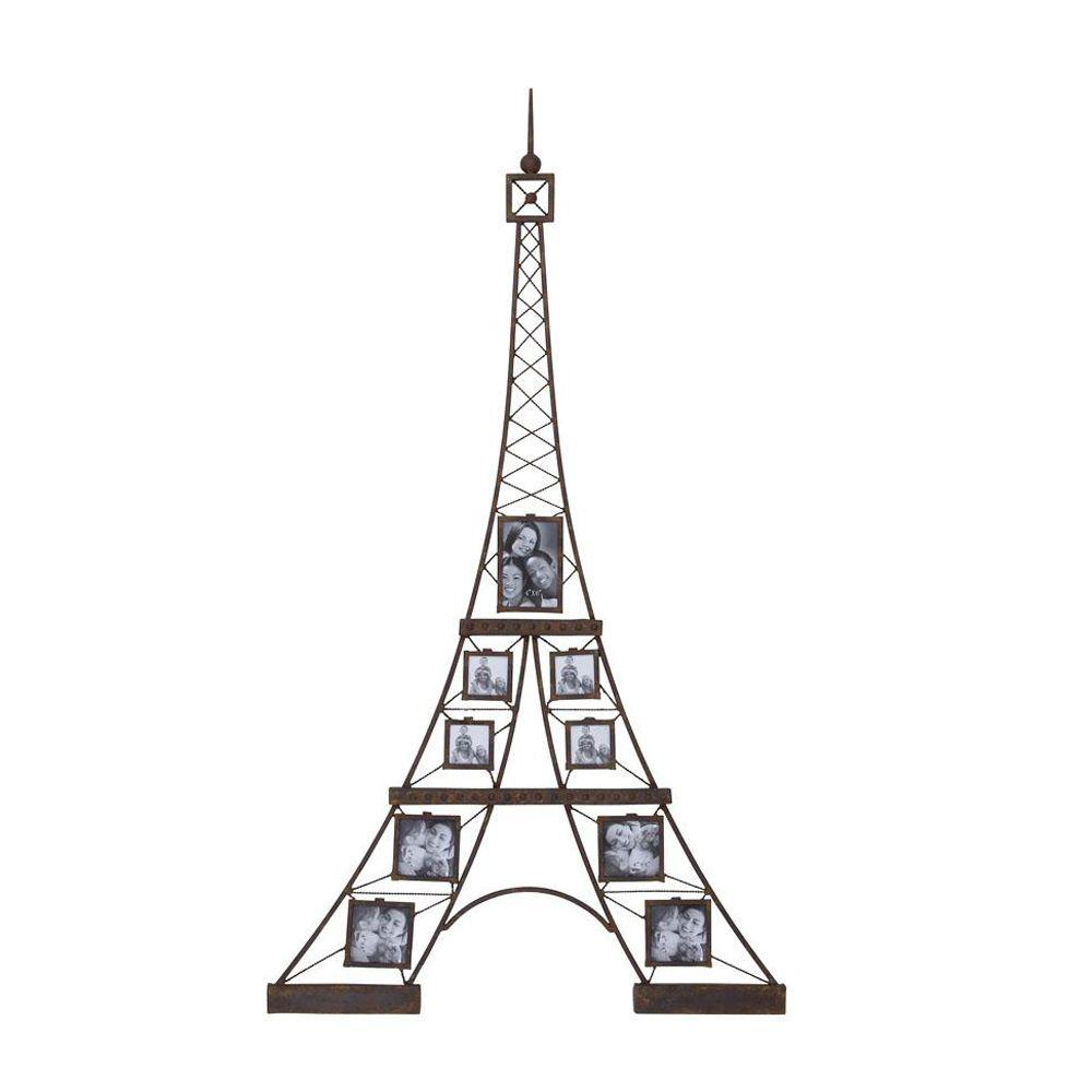 Home Decorators Collection 32 in. W Eiffel Wall Black Photo Frame